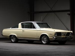 Plymouth Barracuda Fastback Hardtop 1966 года