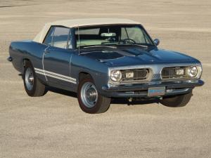 Plymouth Barracuda Convertible 1967 года