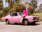 Plymouth Barracuda Fastback Playmate Pink 1967 года