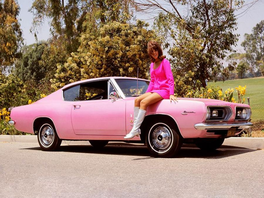 1967 Plymouth Barracuda Fastback Playmate Pink