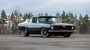 Plymouth Barracuda Formula S Fastback by West Coast Customs 1967 года