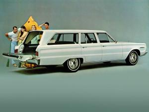 Plymouth Belvedere l Station Wagon 1967 года
