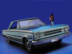 1967 Plymouth Belvedere ll Hardtop Coupe