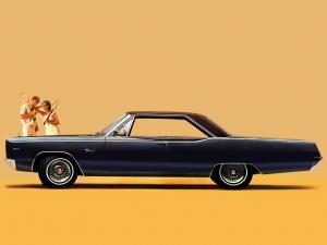 Plymouth Fury III Hardtop Coupe 1967 года