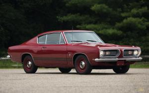 Plymouth Barracuda Formula S Fastback 1968 года
