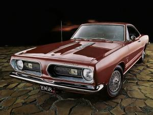 Plymouth Barracuda Formula S Hardtop Coupe 1968 года
