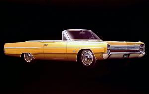 Plymouth Fury 1968 года
