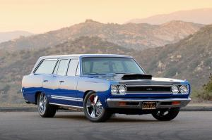 1968 Plymouth GTX 440 Six Pack Wagon