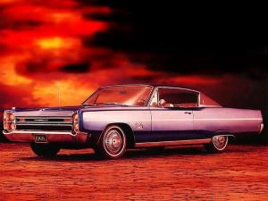 Plymouth Sport Fury Fast Top Coupe 1968 года