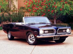 Plymouth Barracuda Convertible 1969 года