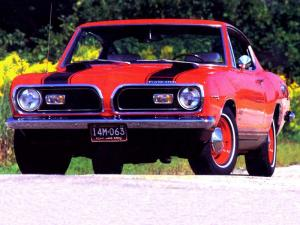 Plymouth Barracuda Fastback 1969 года