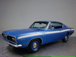 Plymouth Barracuda Formula 340-S Fastback 1969 года