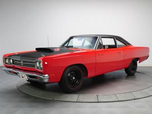 Plymouth Road Runner 440+6 Coupe 1969 года