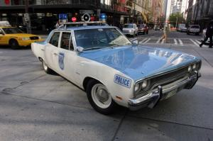 1970 Plymouth Satellite Police Cruiser