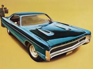 Plymouth Sport Fury GT Hardtop Coupe 1970 года