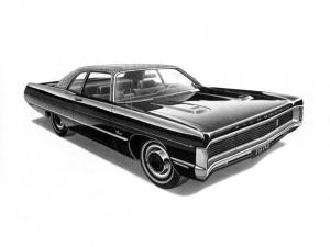 Plymouth Sport Fury Hardtop Coupe 1970 года