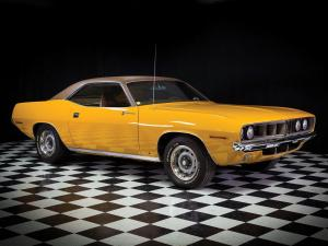 Plymouth Barracuda Gran Coupe 1971 года