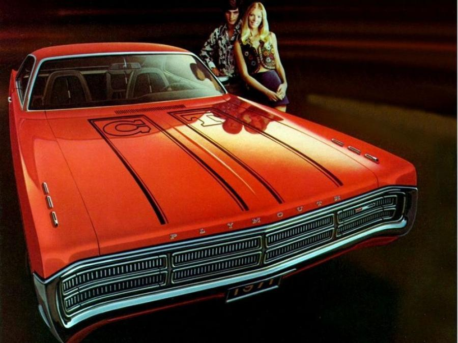 Plymouth Sport Fury GT Hardtop Coupe