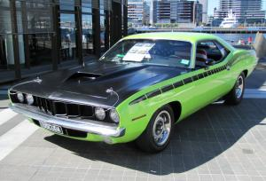 1971 Plymouth 'Cuda AAR replica