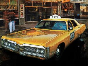 1972 Plymouth Fury I Sedan Taxi