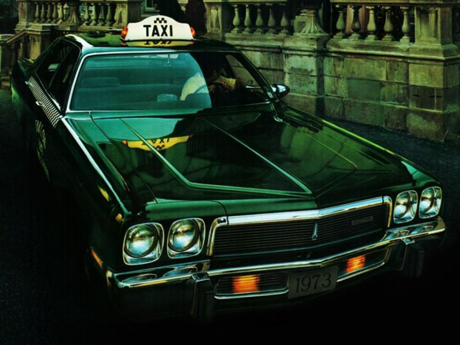 Plymouth Fury Taxi