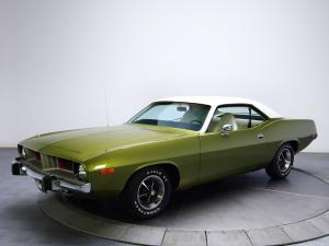 Plymouth Barracuda 1974 года