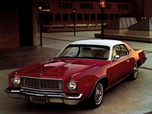 1975 Plymouth Fury Sport Hardtop Coupe