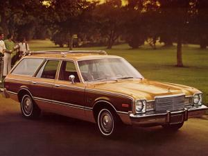 1976 Plymouth Volare Premier Station Wagon