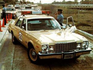 Plymouth Volare Police 1978 года
