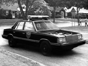 1982 Plymouth Reliant Police