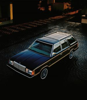 Plymouth Reliant SE Station Wagon 1984 года