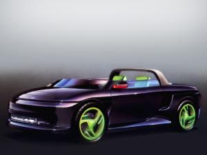1989 Plymouth Speedster Concept