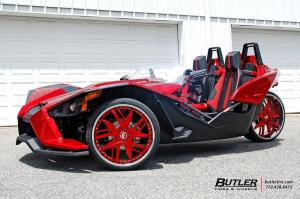 2015 Polaris Slingshot on Forgiato Wheels