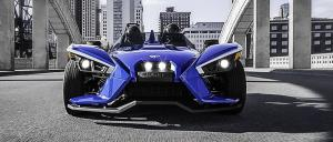 2016 Polaris Slingshot Blue Fire SL LE