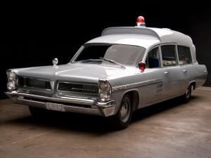 Pontiac Bonneville Military Ambulance by Superior 1963 года