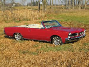 Pontiac GTO Tri-Power Hardtop Convertible 1965 года