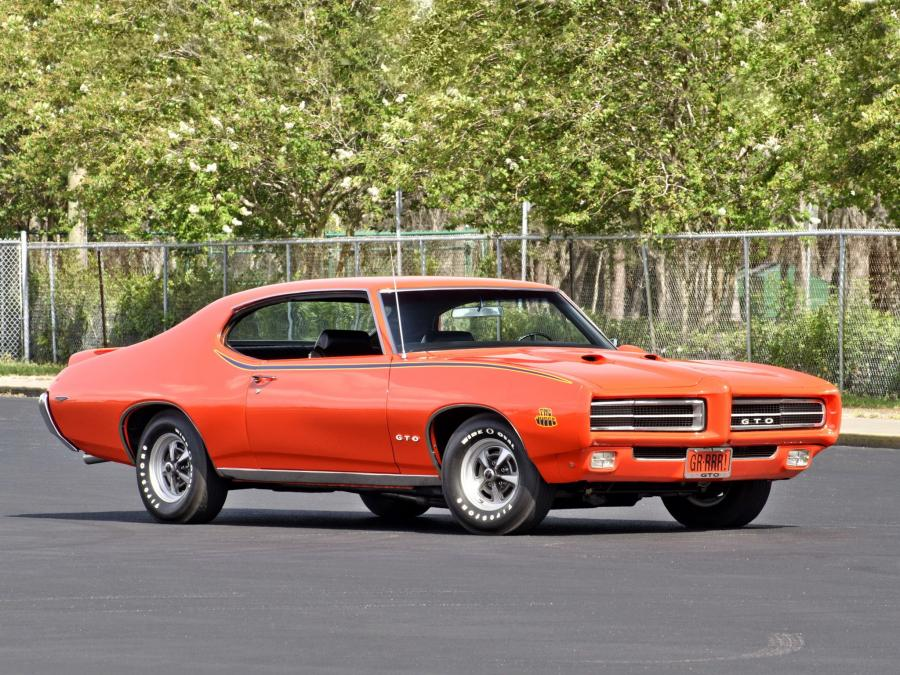 1969 Pontiac GTO The Judge Hardtop Coupe
