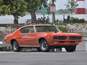 Pontiac GTO The Judge Ram Air IV Hardtop Coupe 1969 года