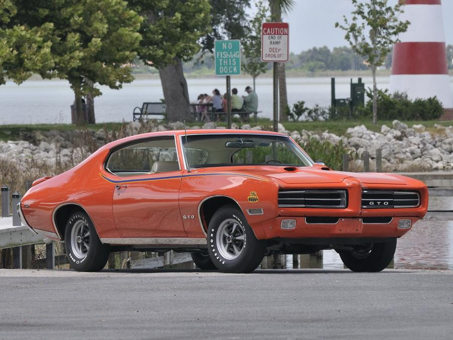 1969 Pontiac GTO The Judge Ram Air IV Hardtop Coupe