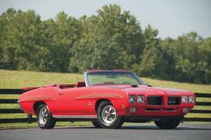 Pontiac GTO Judge Ram Air IV Convertible 1970 года