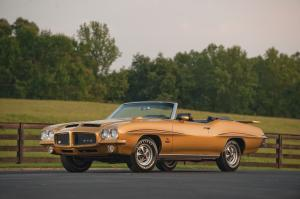 1971 Pontiac GTO Judge 455 H.O. Convertible