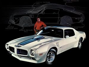 Pontiac Firebird Trans Am 1973 года