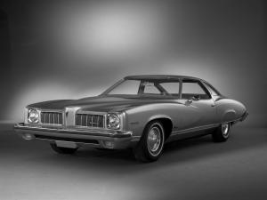 1973 Pontiac Luxury LeMans Colonnade Hardtop Coupe