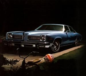 Pontiac LeMans Hardtop Sedan 1974 года
