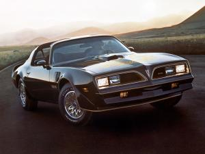 Pontiac Firebird Trans Am T/A 6.6 W72 T-Top 1977 года