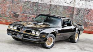 Pontiac Firebird Trans Am T/A 6.6 W72 Black Special Edition 1978 года