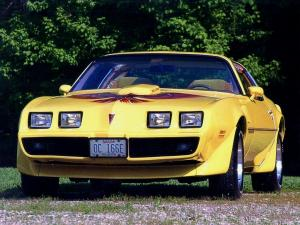 Pontiac Firebird Trans Am T-Roof 1978 года