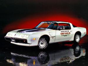 Pontiac Firebird Turbo Trans Am Indy 500 Pace Car 1980 года