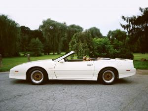 Pontiac Firebird Turbo Trans Am Convertible 20th Anniversary 1989 года