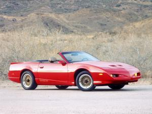 Pontiac Firebird Trans Am Convertible 1991 года